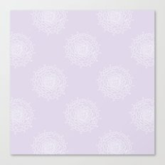 Lavender Chrysanthemum Canvas Print
