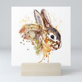 Mr. Bunny Mini Art Print