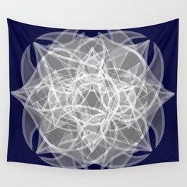 Floweralellagram #7 Wall Tapestry