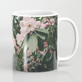 Pink Rhododendron Flowers Coffee Mug