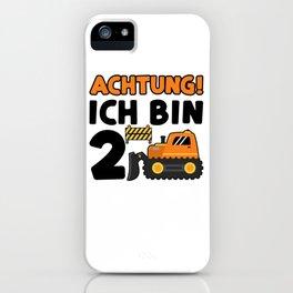 Achtung Ich Bin 2 iPhone Case