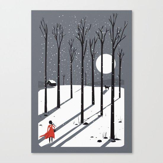 little red cap Canvas Print
