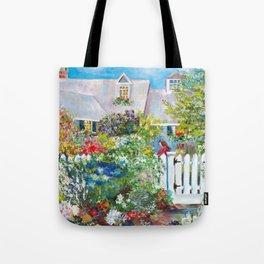 Summer in Kennebunkport Tote Bag