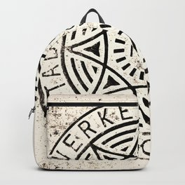 Manhole Cover Backpack