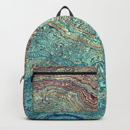 Pearl Marble texture Backpack