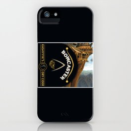 Bowcaster Dry Cider iPhone Case