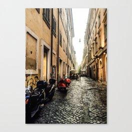 Roman Alley Canvas Print