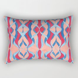 Tenacity of Fate Rectangular Pillow