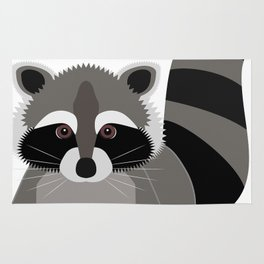 Raccoon Rug