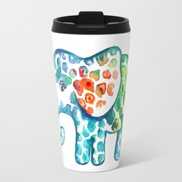 Rainbow Elephant Travel Mug