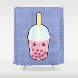 Bubble Tea Shower Curtain