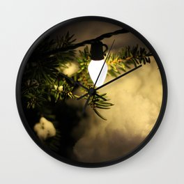 Light and Snow Wall Clock