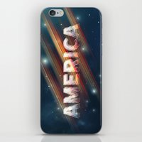 america iPhone & iPod Skins featuring America  by politics