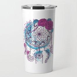 atrapasueños pink Travel Mug