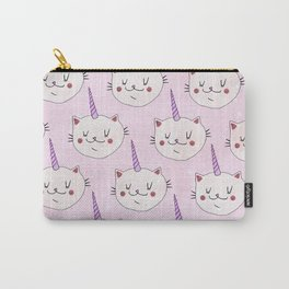Floof the unicorn Carry-All Pouch