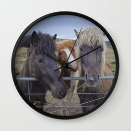 Pen Pals Wall Clock