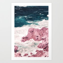 Kiss of the Sea I Art Print