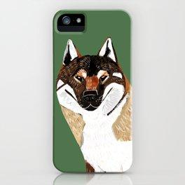 Shikoku Inu iPhone Case