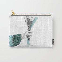 April Bouquet Carry-All Pouch