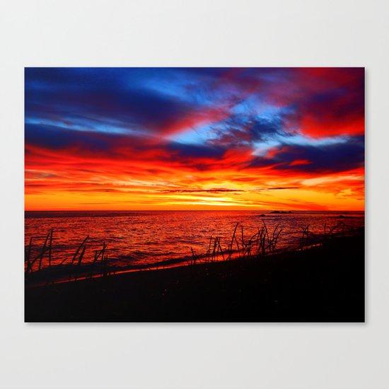 Red Sea at Dawn Canvas Print