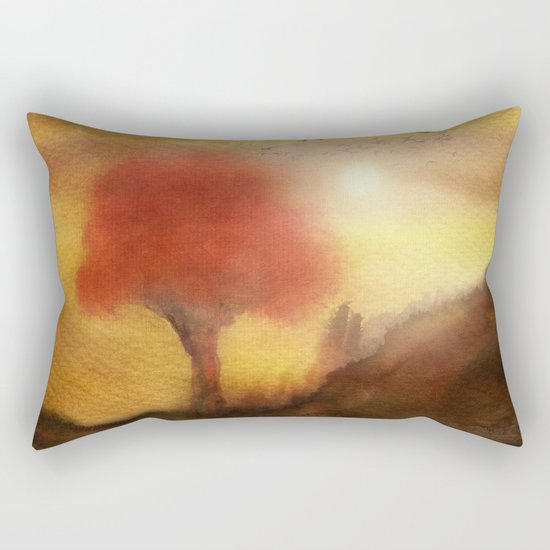 Calling The Sun XIII Rectangular Pillow