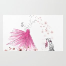 DANCE OF THE CHERRY BLOSSOM Rug