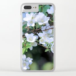 Hawthorn Wildflowers Clear iPhone Case
