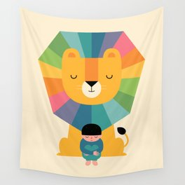 Courage Wall Tapestry