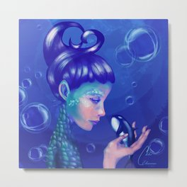 Mother of the Sea Metal Print