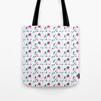 crab Tote Bags featuring Crab by Ewelina Gaska