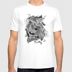 Mount Fuji Mens Fitted Tee White MEDIUM