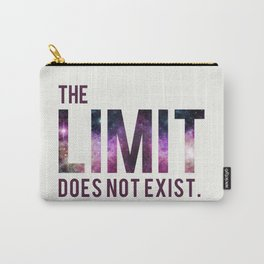 The Limit Does Not Exist - Mean Girls quote from Cady Heron Carry-All Pouch