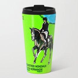 2014 FEI World Equestrian Games in Normandy DRESSAGE Travel Mug