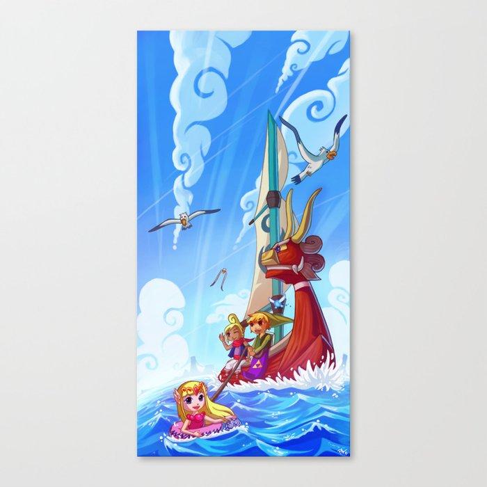 Windwaker Canvas Print