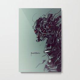 Blocker Metal Print