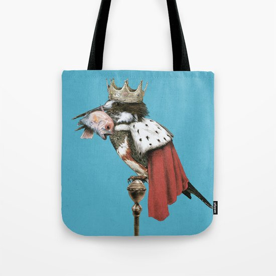 Kingfisher (Blue Option) Tote Bag
