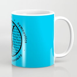 Circle Gymnastics new blue Coffee Mug