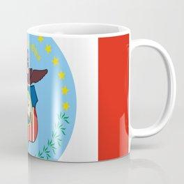 flag of Colombus Coffee Mug