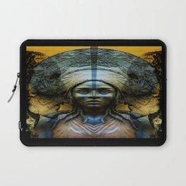 Cabsink16DesignerPatternSPIRTS Laptop Sleeve