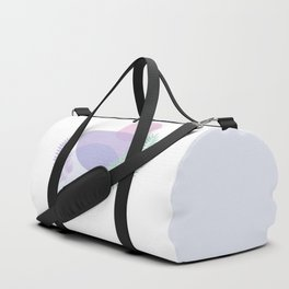 Little pebbles and tropical leaf planet #society6 #minimalart #abstractart Duffle Bag