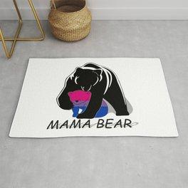 Mama Bear Bisexual Rug