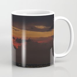 A Sky On Fire Coffee Mug