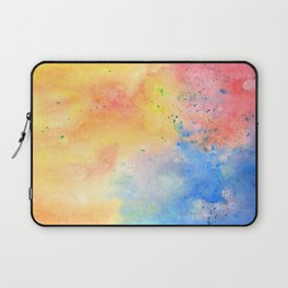 Watercolor page Laptop Sleeve
