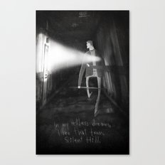 James Sunderland from Silent Hill 2 Canvas Print
