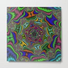 Fractal Abstract 80 Metal Print