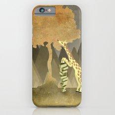 Giraffe Snacks iPhone 6s Slim Case