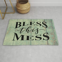 BLESS THIS MESS Rug