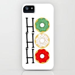 Ho Ho Ho - Holiday Donuts iPhone Case