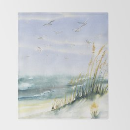Come Fly With Me Throw Blanket