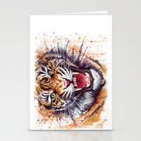 kpop Stationery Cards featuring Tiger by Olechka
